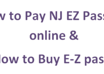 Pay NJ EZ Pass Bill Online & Guide to Buy E-Z pass?