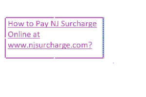 Pay NJ Surcharge Online at www.njsurcharge.com