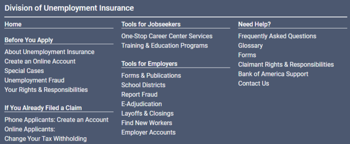 new Jersey employment issues site