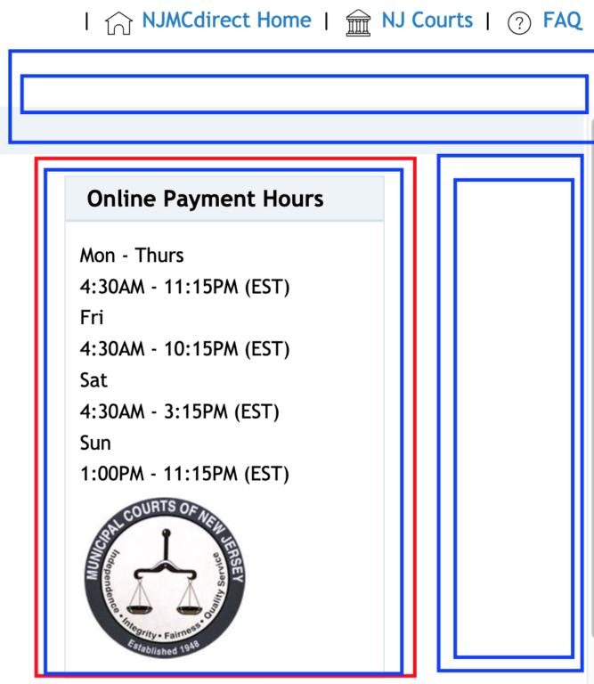 wwwnjmcdirectcom online payment hours